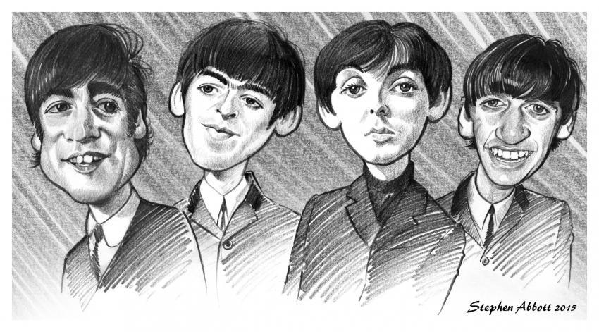 The Beatles par Henstepbatbot